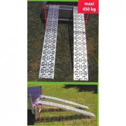 Rampes aluminium pliantes